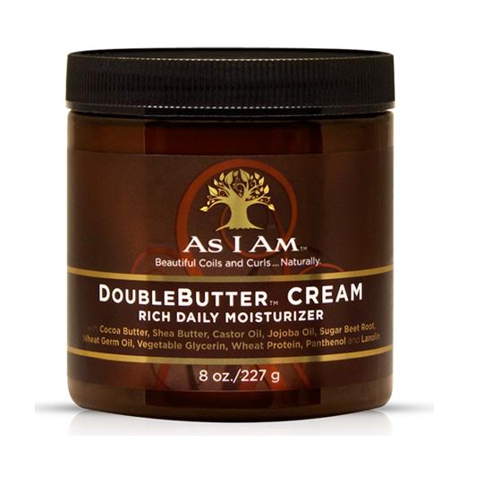As I am  double butter  cream Дневен хидратиращ крем за къдрици    227 ml