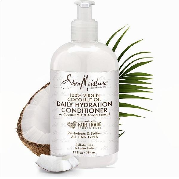 Shea Moisture 100 % Virgin Coconut oil Ежедневен Хидратиращ балсам без протеин 384 мл