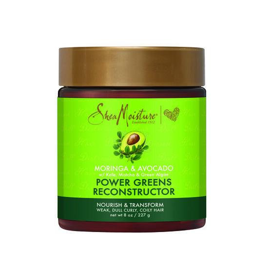 Shea Moisture Power greens  Reconstructor Енергизиращ реконструктор за чуплива и къдрава коса